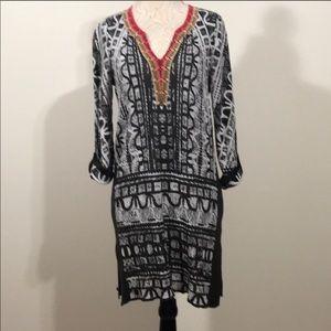 NIC&ZOE sheath stretch Anthropologie M dress